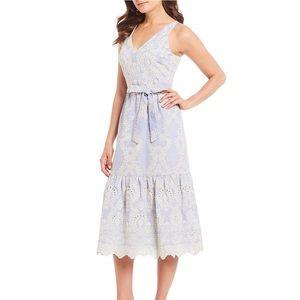 NWT! Antonio Melani Embroidered Lace Dress